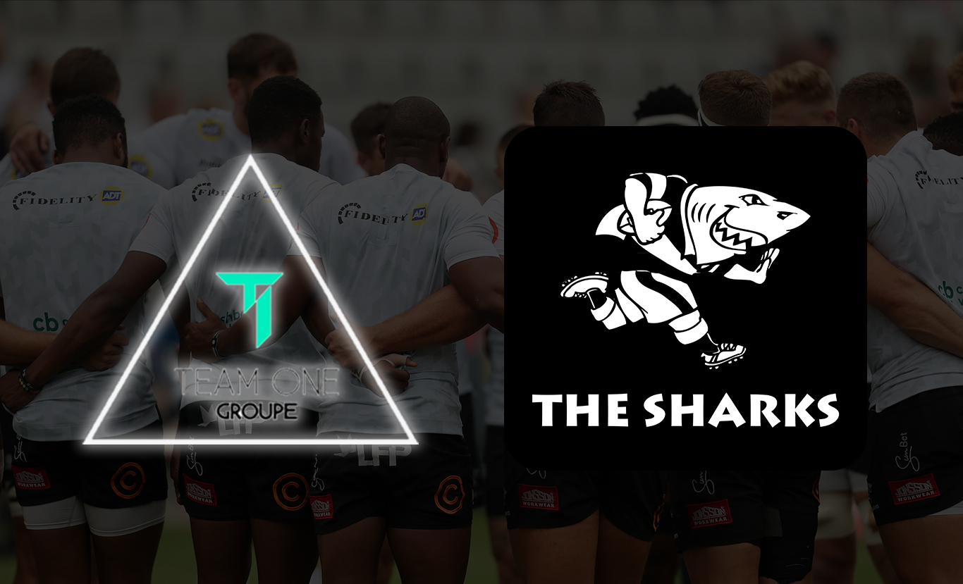TEAM ONE ON-BOARD WITH THE SHARKS